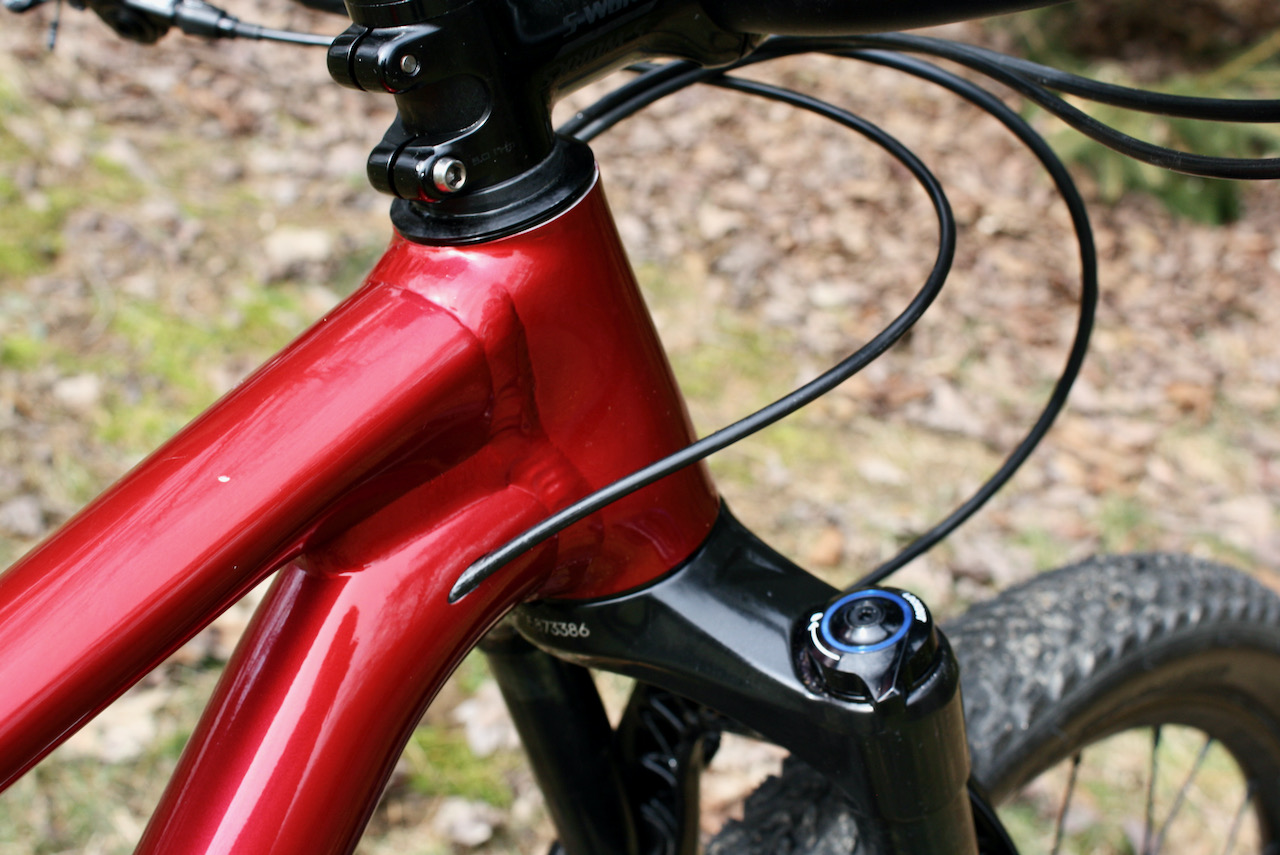 Specialized Chisel XC Bike Review Head tube welds