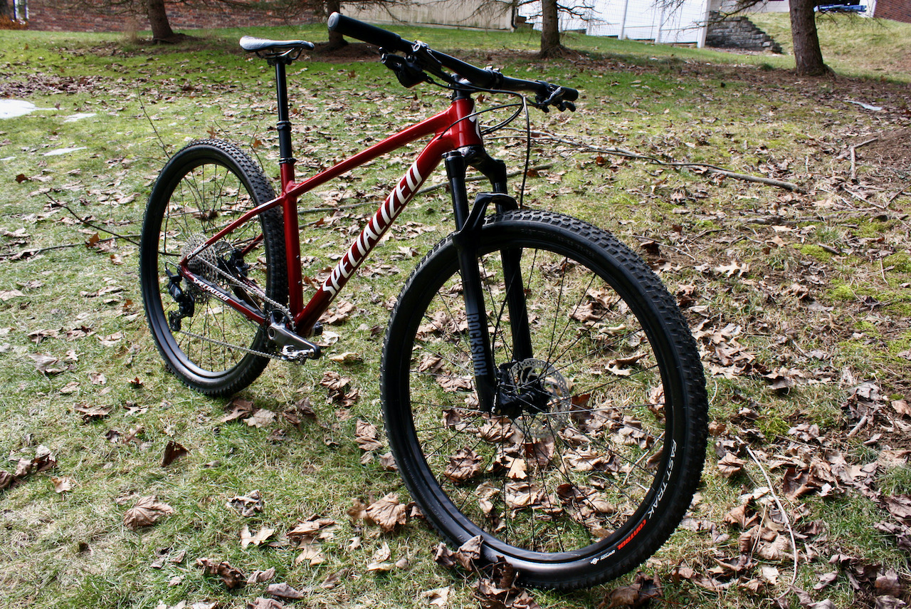 Specialized Chisel XC Bike Review Front side