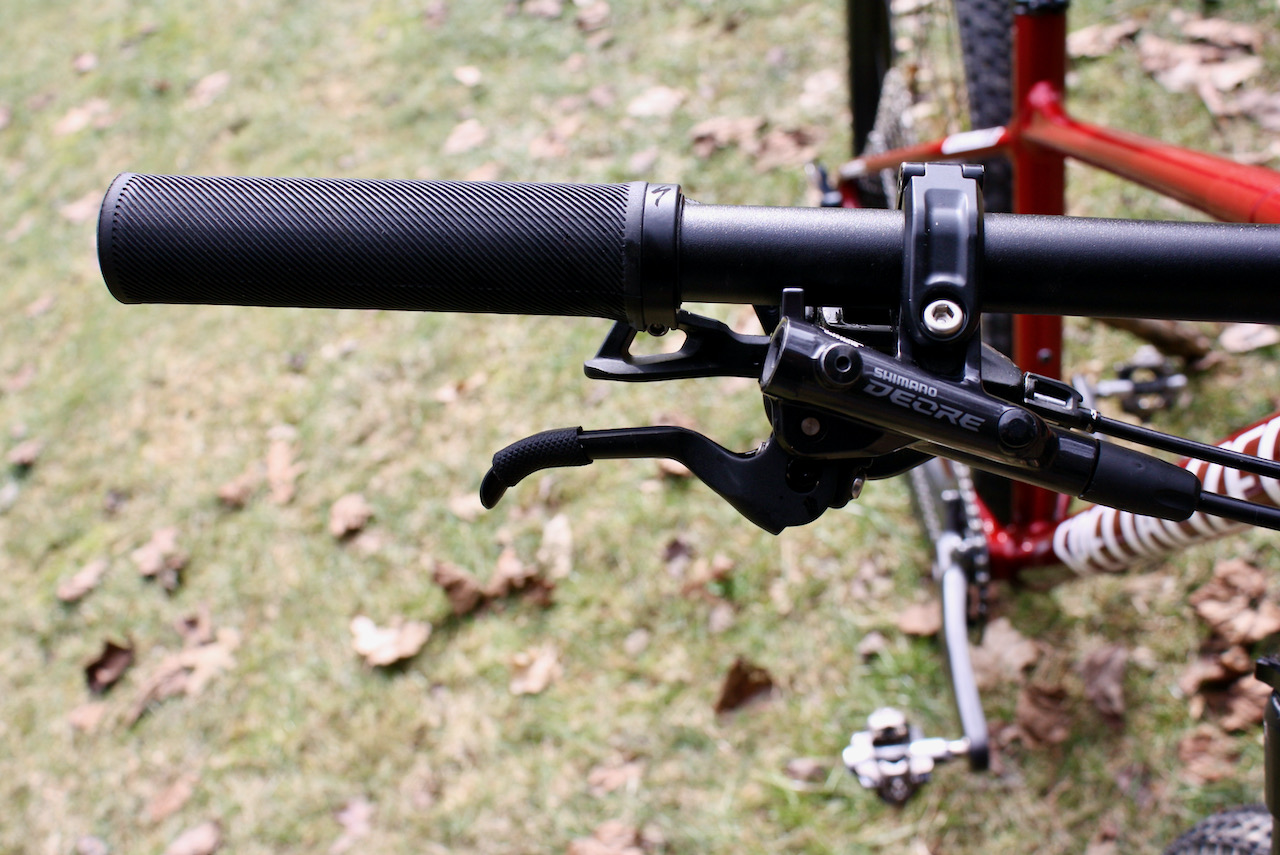 Specialized Chisel XC Bike Review Shimano Deore Brakeset