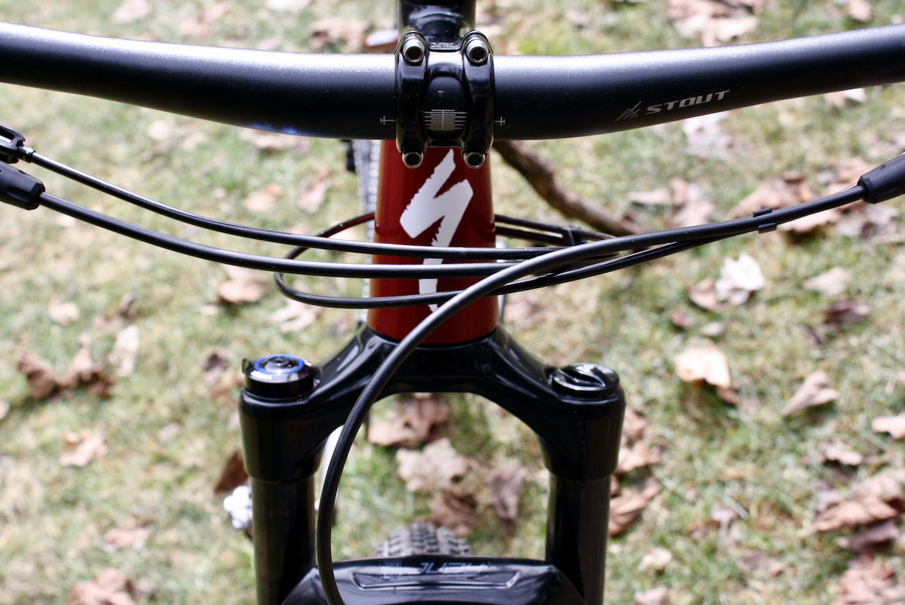 Specialized Chisel XC Bike Review Front headtube
