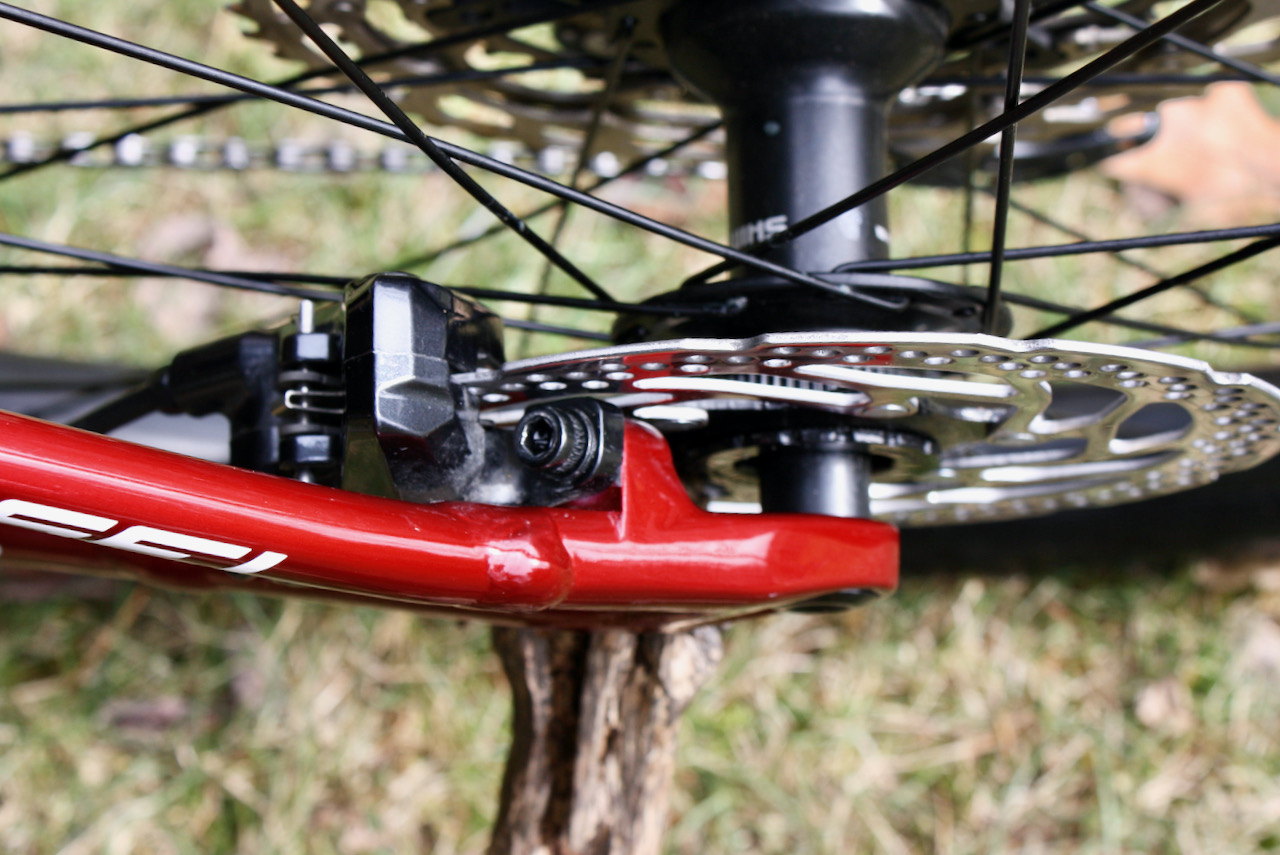 Specialized Chisel XC Bike Review Shimano Deore Brakeset Rotor
