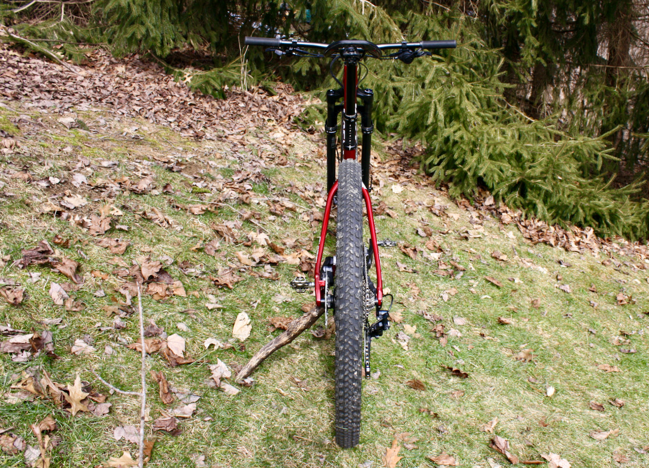 Specialized Chisel XC Bike Review Rear