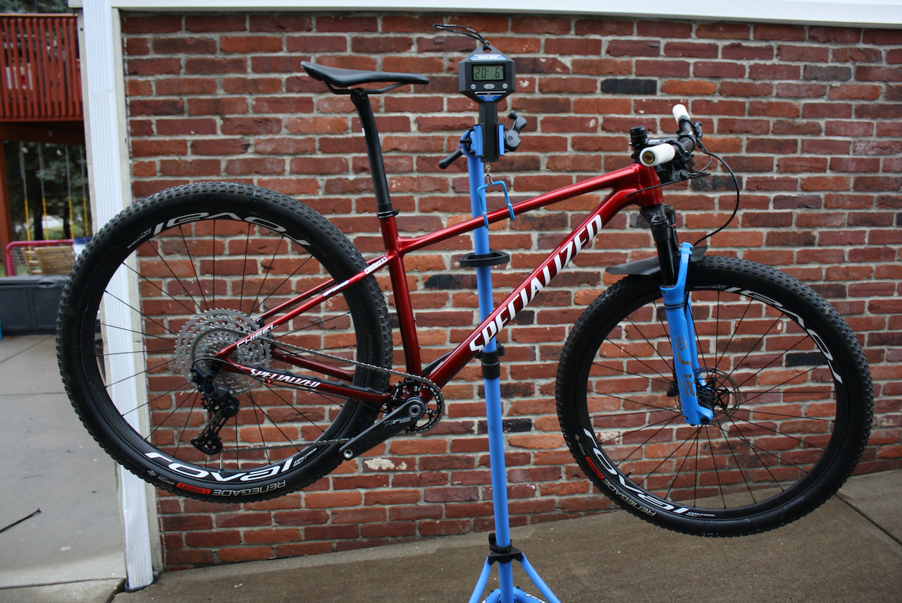 Specialized Chisel XC Bike Review Race Weight 20.4lbs