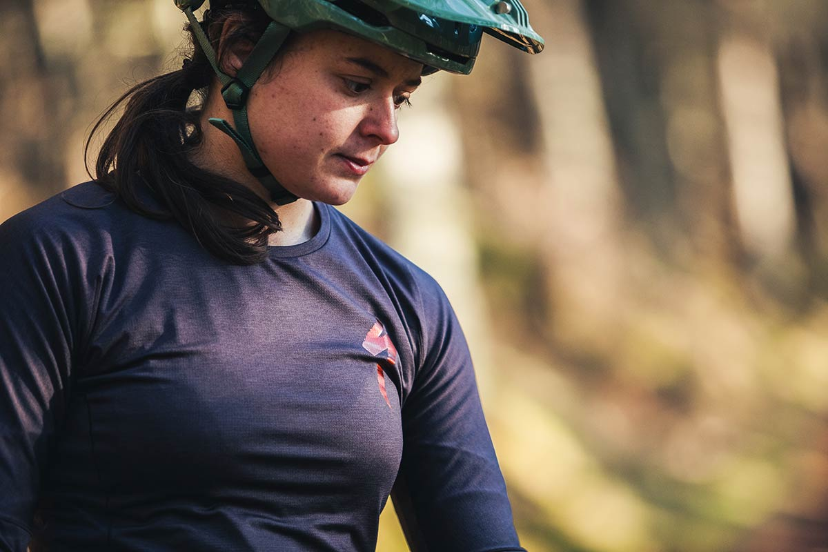 review specialized trail-series long sleeve jersey womens mtb top spring 2021